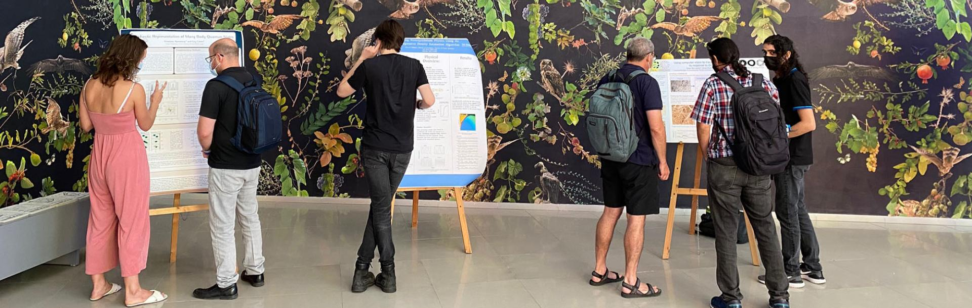TAD center held the first Meet and Collaborate event at the Tel Aviv University Art Gallery